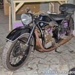 Мотоцикл BMW R-35 в музее Ретро-Мото на ВВЦ - 2