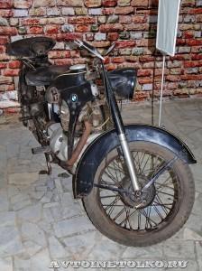 Мотоцикл EMW R-35 в музее Ретро-Мото на ВВЦ - 1