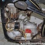 Мотоцикл EMW R-35 в музее Ретро-Мото на ВВЦ - 9