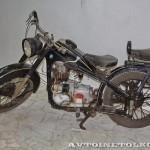 Мотоцикл EMW R-35 в музее Ретро-Мото на ВВЦ - 2