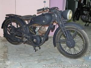 Мотоцикл DKW KS-200 в музее Ретро-Мото на ВВЦ - 1