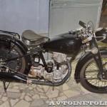 Мотоцикл NSU OSL-201 в музее Ретро-Мото на ВВЦ - 2