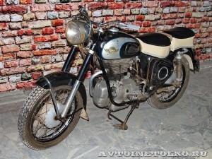 Мотоцикл AWO 425 Sport в музее Ретро-Мото на ВВЦ - 1