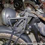 Мотоцикл Triumph 3SW в музее Ретро-Мото на ВВЦ - 10