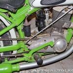 Мотоцикл ИЖ-49 в музее Ретро-Мото на ВВЦ - 4
