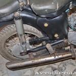 Мотоцикл MZ ES-250 в музее Ретро-Мото на ВВЦ - 7