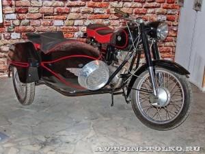 Мотоцикл Pannonia T5 в музее Ретро-Мото на ВВЦ - 1