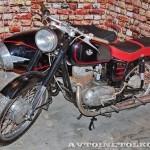 Мотоцикл Pannonia T5 в музее Ретро-Мото на ВВЦ - 2