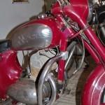Мотоцикл Jawa 360 в музее Ретро-Мото на ВВЦ - 11