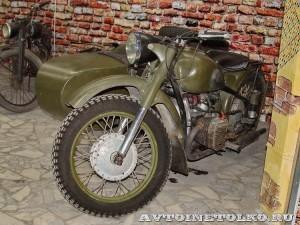 Мотоцикл М-72 в музее Ретро-Мото на ВВЦ - 1