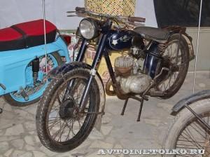 Мотоцикл К-125М в музее Ретро-Мото на ВВЦ - 1