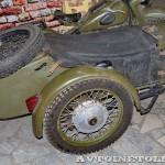 Мотоцикл М-72 в музее Ретро-Мото на ВВЦ - 11