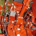 Колесный трактор ДТ-20 на стенде Мастерской Шаманского на Олдтаймер-Галерее в Сокольниках 2014 - 9
