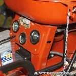 Колесный трактор ДТ-20 на стенде Мастерской Шаманского на Олдтаймер-Галерее в Сокольниках 2014 - 10