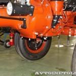 Колесный трактор ДТ-20 на стенде Мастерской Шаманского на Олдтаймер-Галерее в Сокольниках 2014 - 12