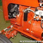 Колесный трактор ДТ-20 на стенде Мастерской Шаманского на Олдтаймер-Галерее в Сокольниках 2014 - 15