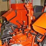 Колесный трактор ДТ-20 на стенде Мастерской Шаманского на Олдтаймер-Галерее в Сокольниках 2014 - 17