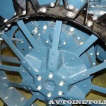 колесный трактор Универсал-2 на стенде Мастерской Шаманского на Олдтаймер-Галерее в Сокольниках 2014 - 14