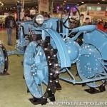 колесный трактор Универсал-2 на стенде Мастерской Шаманского на Олдтаймер-Галерее в Сокольниках 2014 - 2