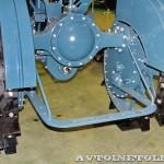 колесный трактор Универсал-2 на стенде Мастерской Шаманского на Олдтаймер-Галерее в Сокольниках 2014 - 15