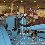 колесный трактор Универсал-2 на стенде Мастерской Шаманского на Олдтаймер-Галерее в Сокольниках 2014 - 16