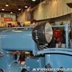 колесный трактор Универсал-2 на стенде Мастерской Шаманского на Олдтаймер-Галерее в Сокольниках 2014 - 17