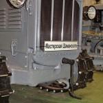 гусеничный трактор СТЗ-3 СХТЗ-НАТИ на стенде Мастерской Шаманского на Олдтаймер-Галерее в Сокольниках 2014 - 8