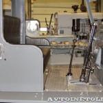 гусеничный трактор СТЗ-3 СХТЗ-НАТИ на стенде Мастерской Шаманского на Олдтаймер-Галерее в Сокольниках 2014 - 11