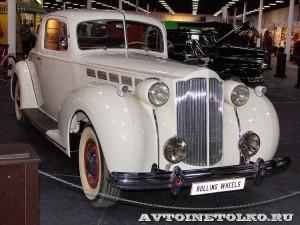Packard Super Eight на Олдтаймер-Галерее в Сокольниках 2014 - 1