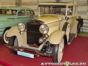 Cadillac 353 на Олдтаймер-Галерее в Сокольниках 2014 - 2
