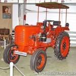 Колесный трактор ДТ-20 на стенде Мастерской Шаманского на Олдтаймер-Галерее в Сокольниках 2014 - 3