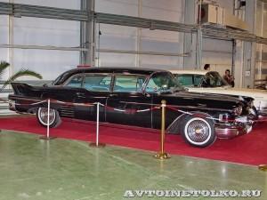 Cadillac Fleetwood Formal Limousine на Олдтаймер-Галерее в Сокольниках 2014 - 1