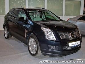 Cadillac SRX на Олдтаймер-Галерее в Сокольниках 2014 - 1