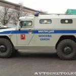Полицейский автомобиль СПМ-2 (ГАЗ-233036) на выставке Интерполитех - 2