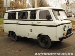 УАЗ-3962 с электроимпульсной защитой СРПО СНЭВ на выставке Интерполитех - 1