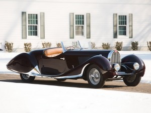 1937 Bugatti Type 57C Roadster in the style of Figoni et Falaschi chassis 57617