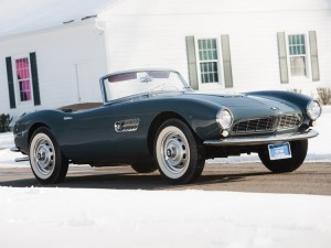 1958 BMW 507 Series II Roadster chassis 70156