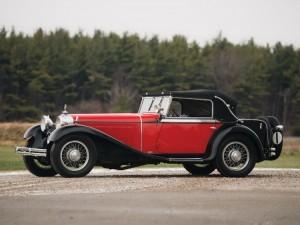 1931 Mercedes-Benz 370 S Mannheim Sport Cabriolet chassis U84901