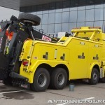 Тяжелый эвакуатор EMPL EH-W 200 Bison на шасси MAN TGX 41.480 8x4 BB-WW на выставке Комтранс 2013 - 2