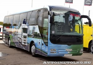 автобус MAN Lion's Coach R07 на выставке Комтранс 2013 - 1