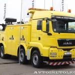 Тяжелый эвакуатор EMPL EH-W 200 Bison на шасси MAN TGX 41.480 8x4 BB-WW на выставке Комтранс 2013 - 3