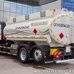 Топливозаправщик с цистерной 17 м³ НПО Авиатехнология на шасси Volvo FM 6х2 на выставке Комтранс 2013 - 3