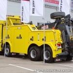 Тяжелый эвакуатор EMPL EH-W 200 Bison на шасси MAN TGX 41.480 8x4 BB-WW на выставке Комтранс 2013 - 4