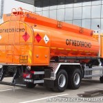 Топливозаправщик Бецема БЦМ-229.3 с цистерной объемом 15 м³ на шасси MAN TGS 33.480 6x6 BB-WW на выставке Комтранс 2013 - 4