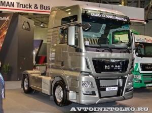 Седельный тягач MAN TGX 18.480 4x2 BLS на выставке Комтранс 2013 - 1