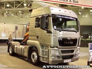 Седельный тягач MAN TGS 19.400 4x2 BLS-WW на выставке Комтранс 2013 - 1