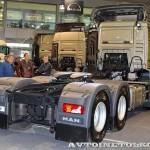 Седельный тягач MAN TGS 26.440 6x6H BLS с приводом Hydro Drive на выставке Комтранс 2013 - 3