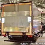 Изотермический фургон с грузоподъемным бортом BAR на шасси MAN TGL 12.180 4x2 BL на выставке Комтранс 2013 - 2