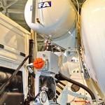 Автобетоносмеситель Cifa SL10 с колбой объемом 10 м³ на шасси MAN TGX 41.400 8x4-WW на выставке Комтранс 2013 - 6