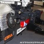Автобетоносмеситель Cifa SL10 с колбой объемом 10 м³ на шасси MAN TGX 41.400 8x4-WW на выставке Комтранс 2013 - 11